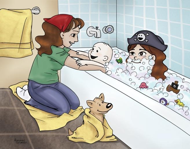 Bathtime Pirates