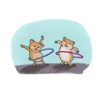 Hula-Hooping-Hamsters