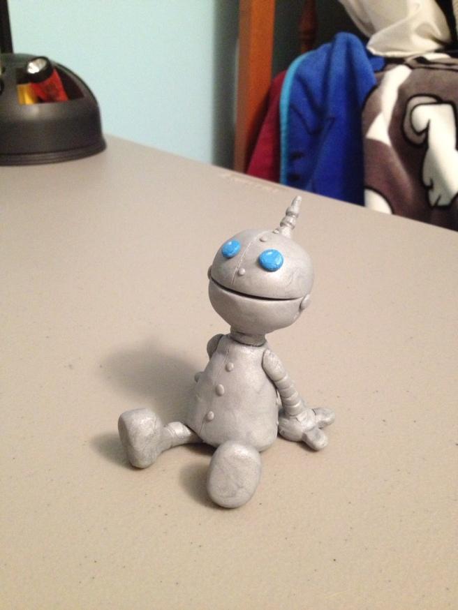 AHS Sculpey Robot