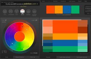 Color Scheme Site