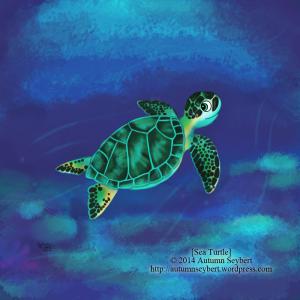 Sea-Turtle-art