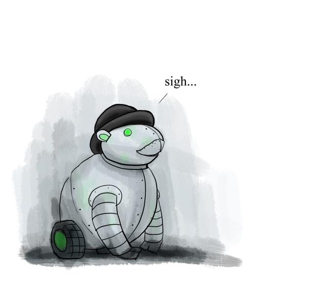 robot-groundhog