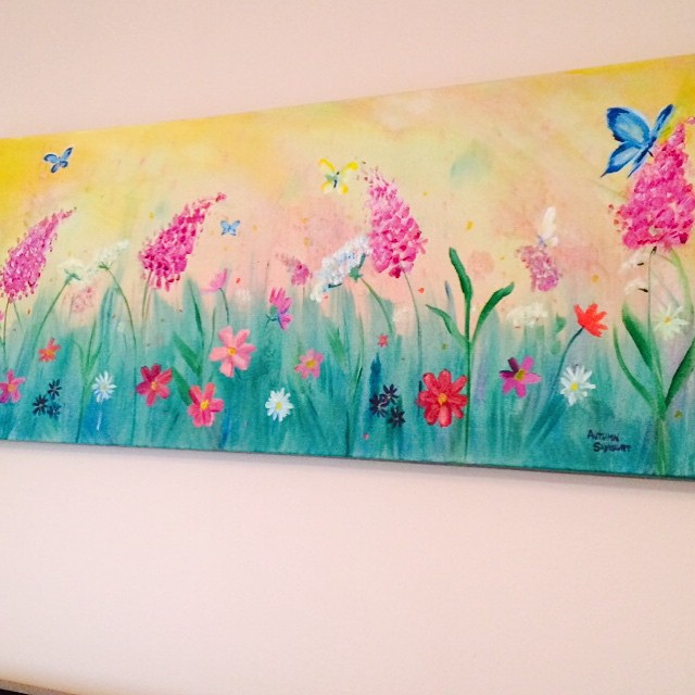 think Spring painting