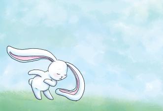 Bunny-takes-a-bow