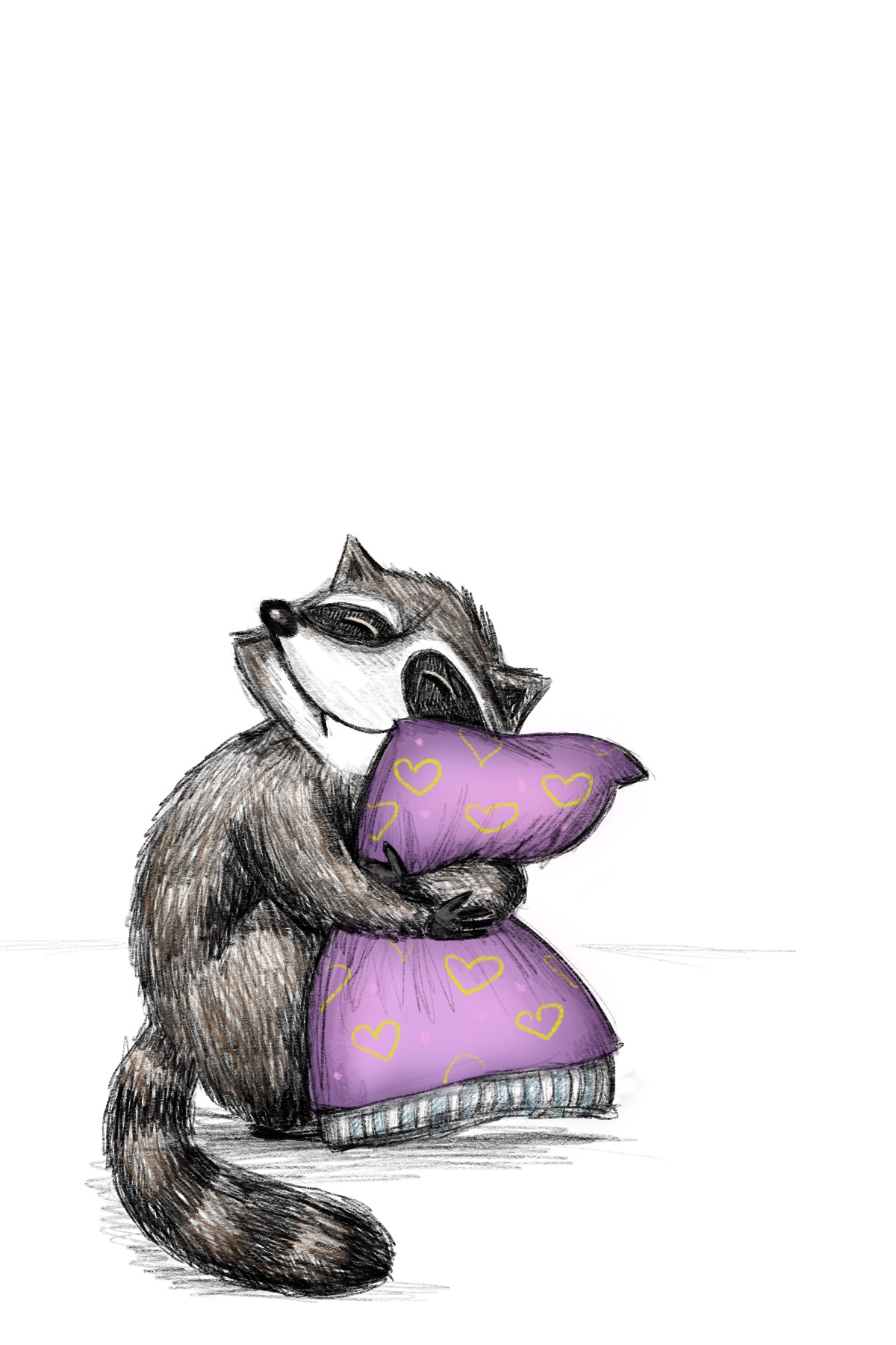 I love you, pillow