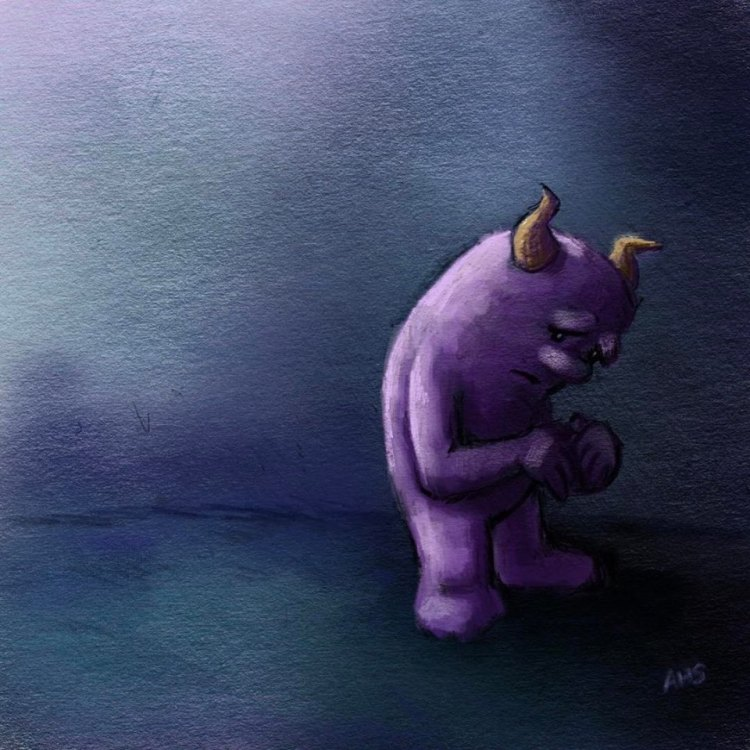sadness-monster