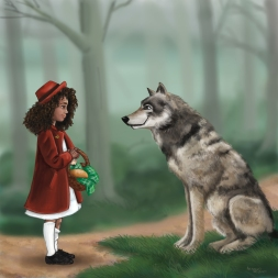 Red Meets the Wolf