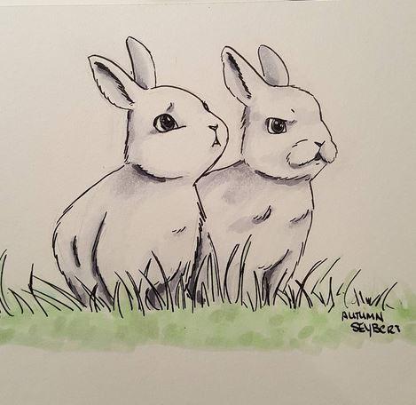 Bunnies inked.JPG